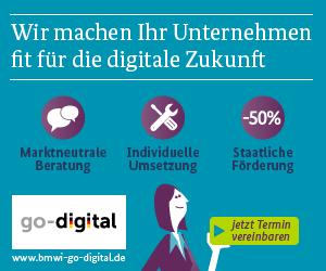 Go-Digital Förderung für Digitalisierung im Handwerk